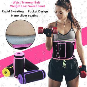 Waist support Men Women Neoprene Lumbar Waist Support Waist Trimmer Belt Unisex Exercise Weight Loss Burn Shaper Gym Fitness Belt