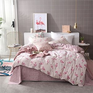 Flamingo Tropical pianta Kid Bed Cover Set Copripiumino Adulto Bambino lenzuola e federe Comforter Bedding 61002