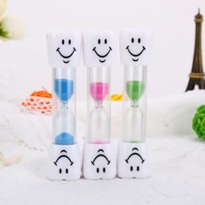 أطفال فرشاة الأسنان الموقت الوجه المبتسم 3-Minute Smile Sandglass Tooth Brushing Hourglass Sand Clock الرئيسية الديكور