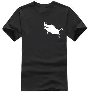 새로운 브랜드 T 셔츠 옴므 품바 인쇄 남성 짧은 소매 T 셔츠 100 %면 소년 여름 캐주얼 T 셔츠 플러스 패션