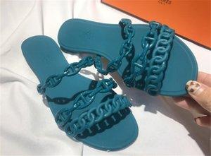 Cdpundari 2020 Flat Chaussons Femmes d'été Chaussures dames Gladiator Chaussons # 387