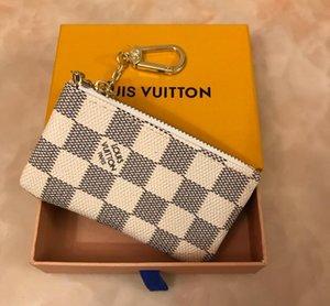 뜨거운 4 색 키 파우치 지퍼 지갑 동전 가죽 지갑 남성 여성 동전 지갑 작은 가죽 열쇠 지갑 지갑