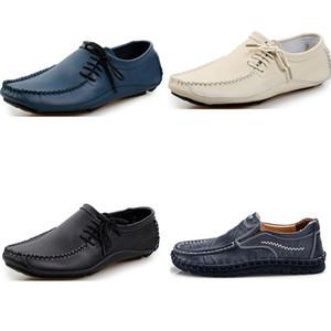 2020 새로운 도착 드레스 신발 남성 패션 신발 검정, 흰색 갈색 회색 스트랩 캐주얼 스포츠 sneakes 패션 드레스 신발 통기성 (54)