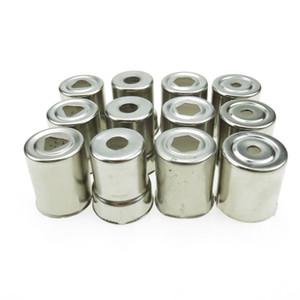 Eletrodomésticos 4 modelos 12PCS / LOT de aço inoxidável Magnetron Caps para Microondas peças de reposição para microondas Copler MICROONDAS Caps