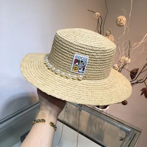 Yeni Lafite hasır şapka, inci zincir, daha güzel nesne, ünlü mizaç zarif stili