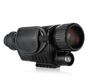 2020 Telescope Visão Nova 5 x 40 Infrared Night Digital High Ampliação com Vídeo Função de saída Hunting Monocular 200m Ver