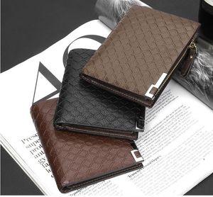 Designer-Baellerry versione sud coreana del portafoglio cerniera venditore caldo all'ingrosso dei portafogli orizzontale maschile