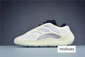 Quality 700 V3 Azael Black White 3M Reflective Kanye West Men Women Running Shoes Sports Sneakers