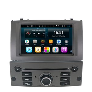 Android 7inch 8-core for peugeot 407 2004-2010 Car Multimedia Player Radio WIFI Bluetooth GPS Navigation Wifi Head Unit