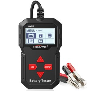 Winsun KW210 Automatic Smart 12V Car Battery Tester Auto Battery Analyzer 100 To 2000CCA Cranking Car Battery Tester