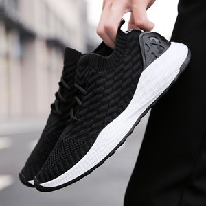 Hot Sale Men Mesh Athletic Shoes Sneakers Breathable Running Shoes Lightweight Sport Men Lace-Up Cushioning Outdoor