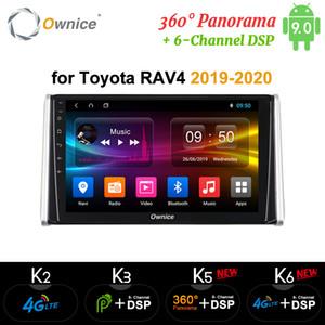 Ownice K3 K5 K6 360 Panorama Octa Core Android 9.0 multimedias del coche DVD para Toyota RAV4 2018 2019 Radio 4G GPS Navi