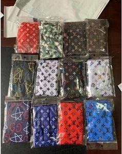 5pcs / lotto Berretti raso di seta dell'involucro della testa del Long Tail per Hip hop uomini di alta qualità Donne headwraps Cap Streetwear