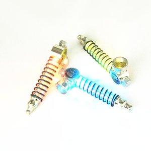 Neue Ankunft Ausgezeichnete Qualität pfeife Taschenlampe Metall aluminium Tabakpfeifen Neuheit artikel Geschenk Rauch Werkzeuge