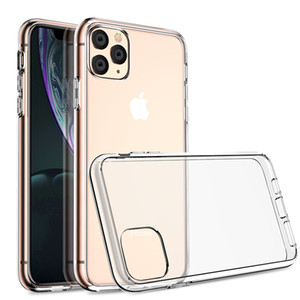 Iphone11 mobile phone case protective cover transparent hard anti-fall breathable waterproof mobile phone cover