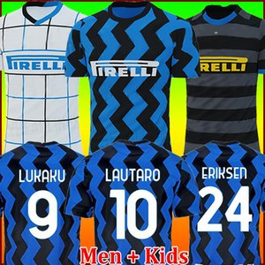 Inter milan soccer jersey football shirt Тайланд Интер Милан футбол Джерси 20th ИКАРДИ ПЕРИСИК НАИНГГОЛАН ЛАУТАРО 20 21 футболка 2020 2021 униформа maglia da calcio