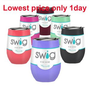 Swig Egg Beer Cup 9oz Swig Wine Cup Stainless Steel Vacuum Coffee Tumbler Mug Termos Swig Tumbler Thermos Garrafa Termica