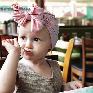 Toddler Kids Baby Headband Baby Girl Hair Bow Turban Knot Headband Headwear Accessories para el cabello