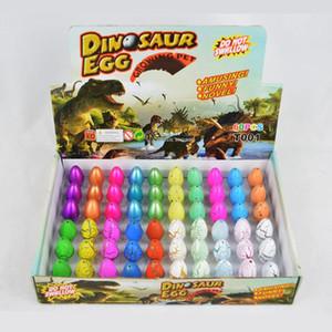 Ajouter eau de plus en plus d'oeufs de dinosaure 60pcs gonflable magie éclosant oeufs de dinosaure enfant enfant jouet éducatif de Pâques cadeau intéressant BC BH1303