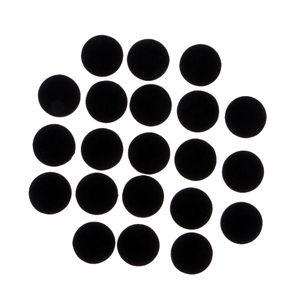 50 Pièces 30x3mm haute qualité Tapis meubles en feutre Felt Tapis Pieds Meubles protecteurs sol non Slip Mat pour les disques surfaces glissantes