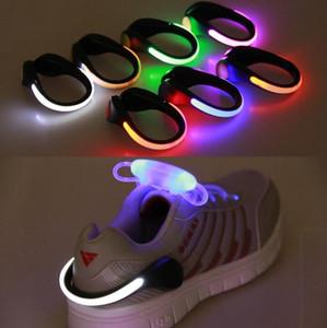LED ışık Ayakkabı Işık Parti Favor GGA3124 Uyarı Ayakkabı Emniyet Klipleri Bisiklet Spor Running Light Gece Güvenliği Uyarısı Gece Klip