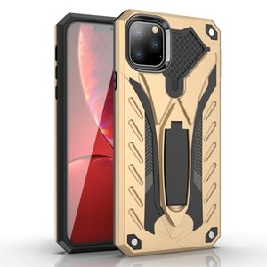 Fantasma Cavaleiro Anti-drop híbrido Phone Case Armadura Kickstand Mobile para iPhone 11 pro Max iPhone X XS XR XSMAX 6 7 8 Plus