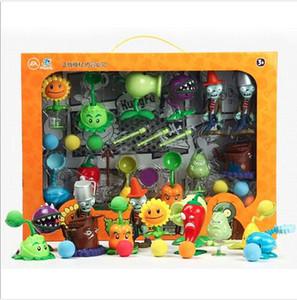 Plants vs. Zombies Детские куклы Подсолнечник Выброс Головоломка для мальчика Игрушечный костюм Ботаническая война Зомби-горох-стрелок Кэннон-Кукла