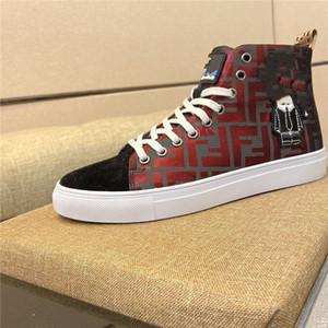 Fendi shoes 2020 nuevos últimas más nuevos hombres del diseñador de las mujeres Speed Trainer zapatos de lujo negro rojo planos del Calcetines Botas zapatillas de deport