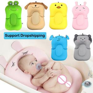 Portable Baby Shower Air Cushion bambini infantile della base del bagno del bambino antiscivolo vasca da bagno Mat bambino appena nato di sicurezza di sicurezza Bagno Sedile