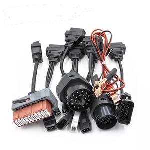 Cables adaptadores Sistema completo de 8 coches OBD2 OBDII Coches de diagnóstico Conectores herramienta de interfaz para tcs