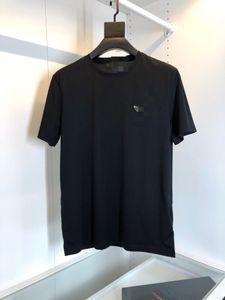 Top P progettista del mens magliette rosso uomini marchio di lusso uomini casuali di alta qualità di estate della maglietta del progettista maglietta