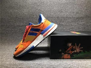2020 High Quality Dragon Ball Son Goku Men Women Running Shoes Orange Collegiate Royal Hi -Res Red Sneaker