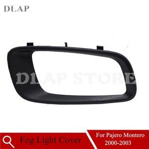 Car Left Front Bumper Fog Light Frame Shell For Mitsubishi For Pajero Montero V73 2001 2002 2003 Fog Light Cover