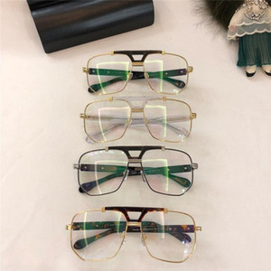 2020 Fashionable popular optical glasses classic square frame top quality simple and generous style 990 protection eyewear with box