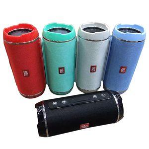 Radio Fm Speakers Cgjxs Tg116 carga Mini sem fio Bluetooth portátil dupla Speaker Super Festa ao ar livre Baixo Escalada Ciclismo apoio TF cartão