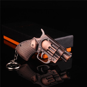 Mini Windproof Gun Lighter Jet Flame Torch Lighter Kitchen Giant Heavy Duty Refillable Micro Culinary Light Keychain