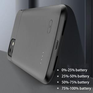 Для iPhone 11 Pro Max Зарядное устройство Чехол TPU мягкий силиконовый для внешнего источника питания банка Резервное зарядное устройство чехол для iPhone 11 Футляр для аккумуляторов