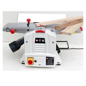 8 pulgadas plana Planer cepillado mesa de la máquina de prensa de regrueso carpintero pequeño de un solo lado del hogar multifunción Planer Herramientas
