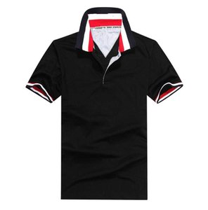 Free Shipping classic mens polo shirt Top Embroidery men short sleeve cotton shirt polos shirt Hot Sales Men's polos t-shirts tees M-XXL New