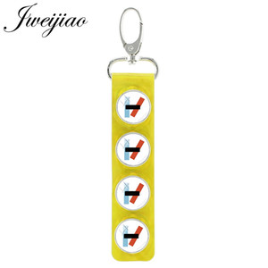 Twenty One Pilots Rock Band Round Glass Dome Keychain Snap Button Pendant Keyring Charm Fans Gift Handmade Jewelry H257