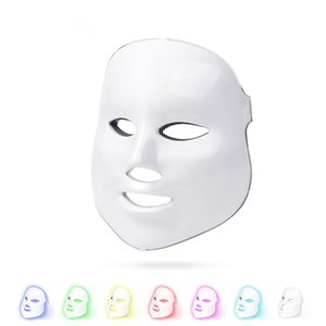 Beauty Photon Facial Mask Therapy 7 colors Light LED Skin Care Rejuvenation Wrinkle Acne Removal Face Beauty Equipment