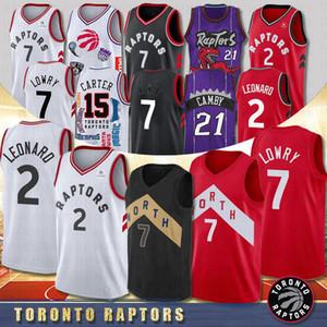 NACC 43 Pascal Siakam 2 Kawhi Leonard College Basketbol Formaları 7 Kyle Lowry 15 Vince Carter 23 Fred VanVleet 1 Tracy McGrady Toronto Raptors 2020 Yeni