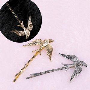 Jewelry Cute Swallow Bird Pin Barrettes Alloy Animal Hair Clip Women Headdress Accessories Sweet Girl Gifts Hair Accessories