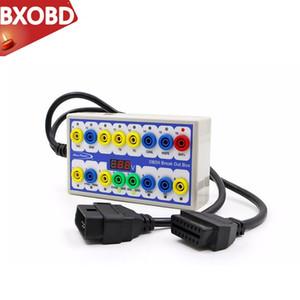 Caja OBD2 OBD del coche Breakout 2 Break Out Box Car protocolo detector de automóviles pueden ser de prueba para automoción Conector Car-detector de OBD2