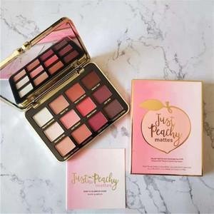 Paletas de maquiagem de rosto Just Peachy Matte Sombra Coleção Eye Edition Palette 12 cores mattes paleta da sombra