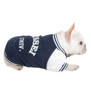 Capi di abbigliamento per animali domestici di moda all'ingrosso Nuovo capispalla per cani ricamato doppio autunno e inverno Capispalla per cani di alta qualità