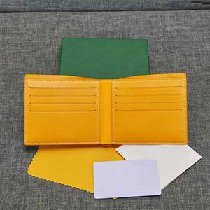 Para hombre de lujo carteras mujer corta cartera de alta calidad paquete de la tarjeta bolsos de marca de moda diseñador de los titulares de tarjetas estilo parís GY con la caja