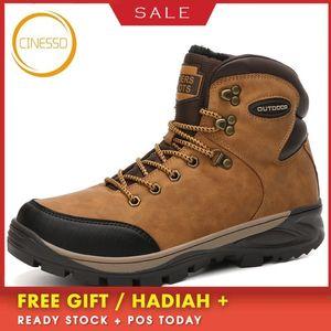 CINESSD inverno di alta qualità un'escursione i pattini Super caldi Trekking scarpe impermeabili esterna resistente al freddo tattico Stivali Sneakers Men