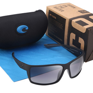 580P Praça óculos polarizados Vintage Reefton Costa Driving Sunglasses Marca exterior Desporto Sunglases Homens Eyewear Masculino Oculos UV400
