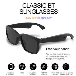 Top Oem sans fil audio Lunettes de soleil Bluetooth avec technologie Open Ear Make mains libres Bluetooth Lunettes de soleil du casque sans fil Appels mobiles